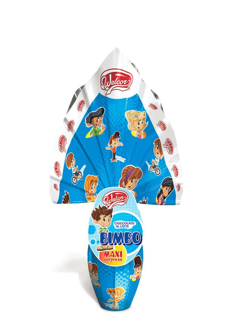 Uovo di Pasqua Walcor BIMBO 150gr