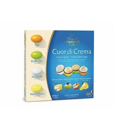 """""""Cuor di Crema"""" ovetti ripieni Crispo 350gr"""