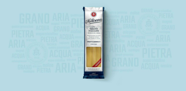 """Spaghetto Quadrato n.1 """"La Molisana"""" 500gr"""