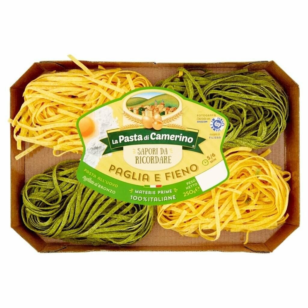 """Paglia e Fieno all'uovo """"La Pasta di Camerino"""" 250gr"""