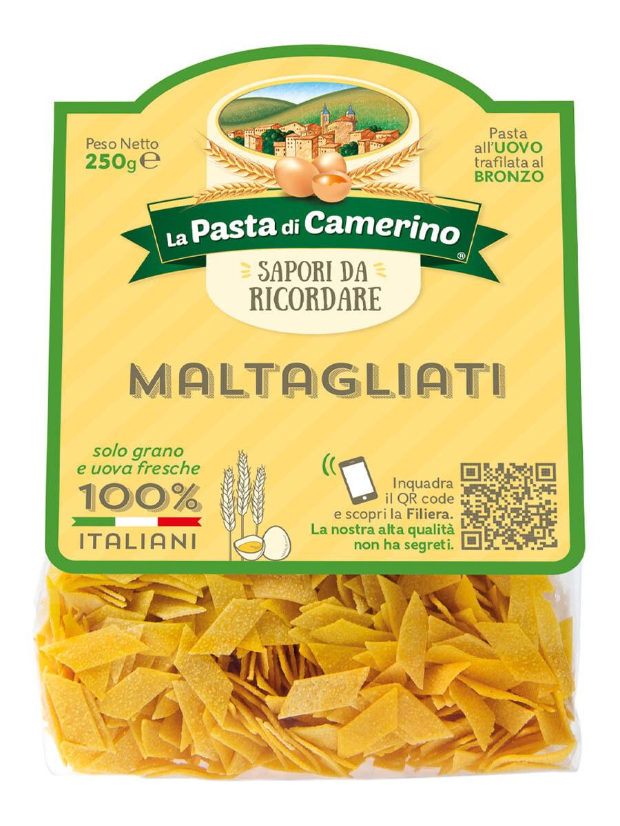 """Maltagliati all'uovo """"La Pasta di Camerino"""" 250gr"""
