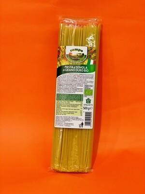 """Spaghetti di semola di grano duro BIO """"Coop. Campo"""" 500gr"""