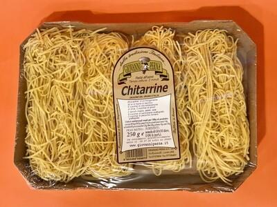 """Chitarrine all'uovo """"Giovanni Perna"""" 250gr"""