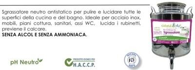 "Eco Detergente SGRASSATORE BAGNO E CUCINA ""NaturalMio"""