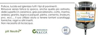 """Eco Detergente PAVIMENTI concentrato """"NaturalMio"""""""