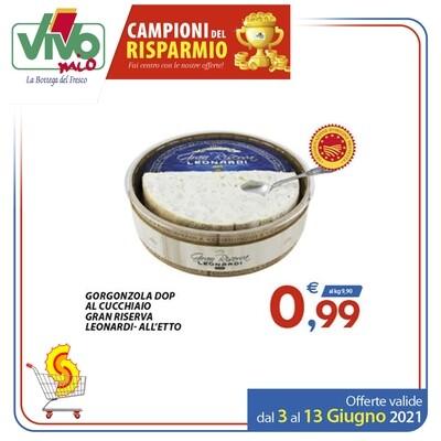 Gorgonzola DOP Gran Riserva Leonardi