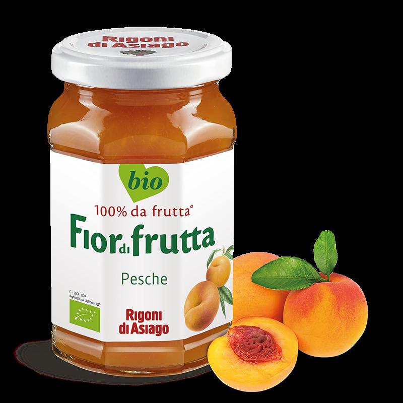 """Fior di Frutta BIO Pesche """"RIGONI DI ASIAGO"""" 250gr"""