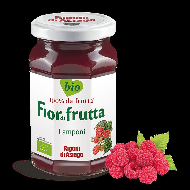 """Fior di Frutta BIO Lamponi """"RIGONI DI ASIAGO"""" 250gr"""