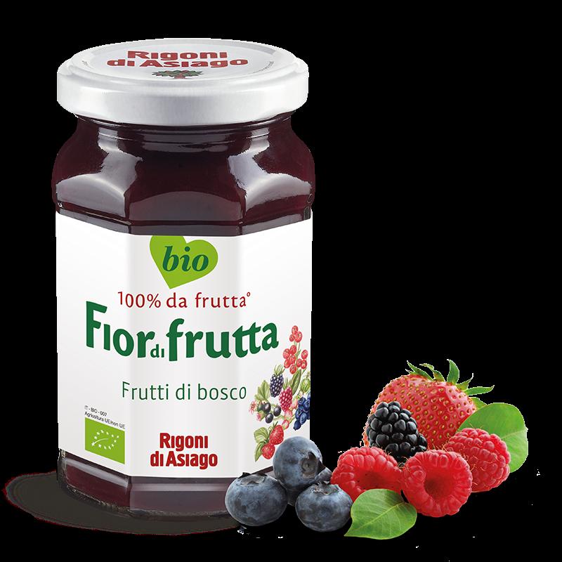 """Fior di Frutti BIO Frutti di bosco """"RIGONI DI ASIAGO"""" 250gr"""