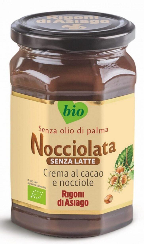 """Nocciolata senza lattosio BIO """"RIGONI DI ASIAGO"""" 270gr"""