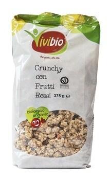 Crunchy con Frutti Rossi VIVIBIO 500 gr