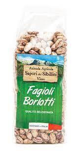 Fagioli Borlotti Az. Agricola Sapori dei Sibillini 400 gr