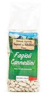 Fagioli Cannellini Az. Agricola Sapori dei Sibillini 400 gr
