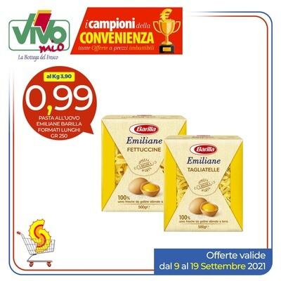 Pasta all'uovo Emiliane Barilla 250gr
