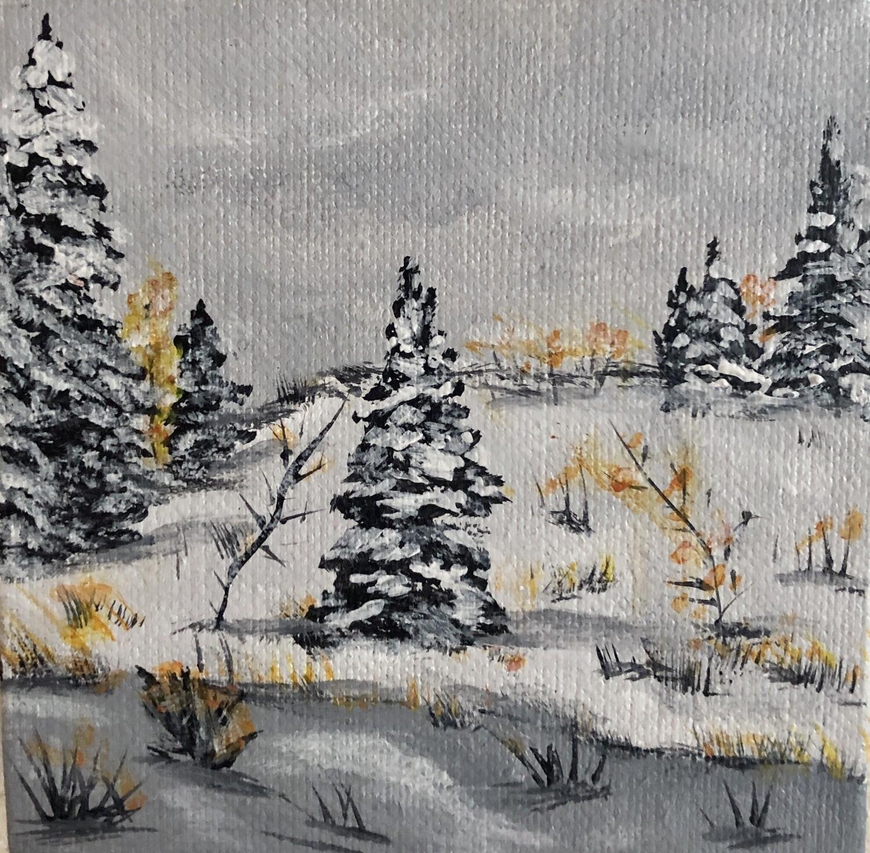 Winter Evergreens 20