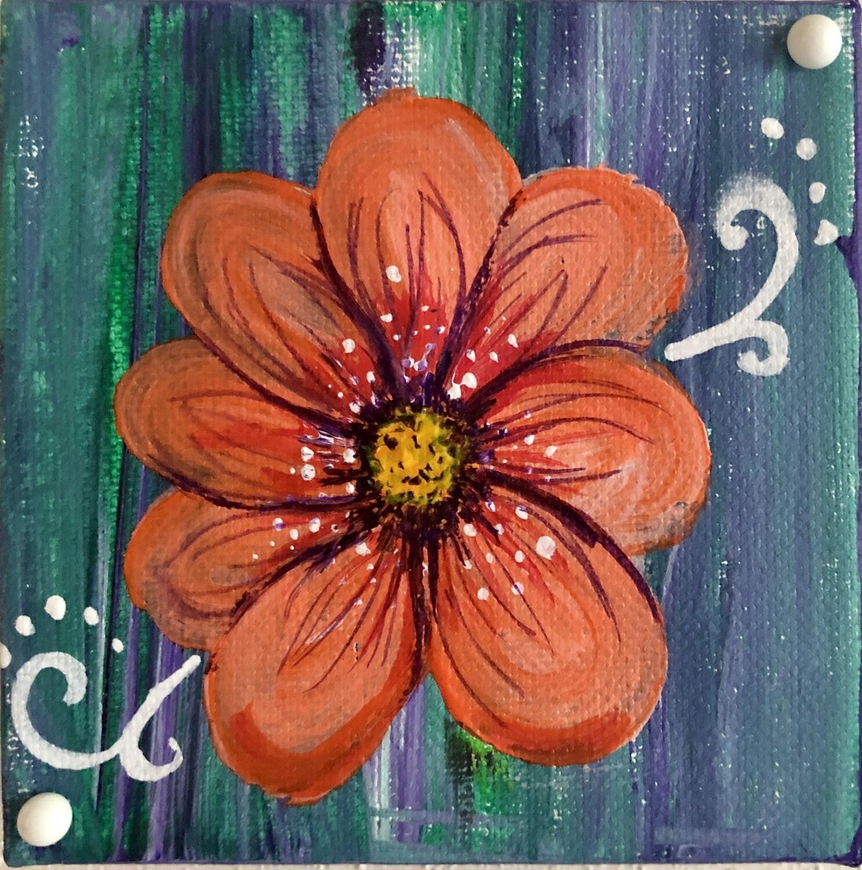 Orange Flower 38