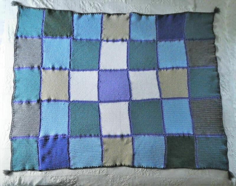 Sofblanket - Crochet blanket