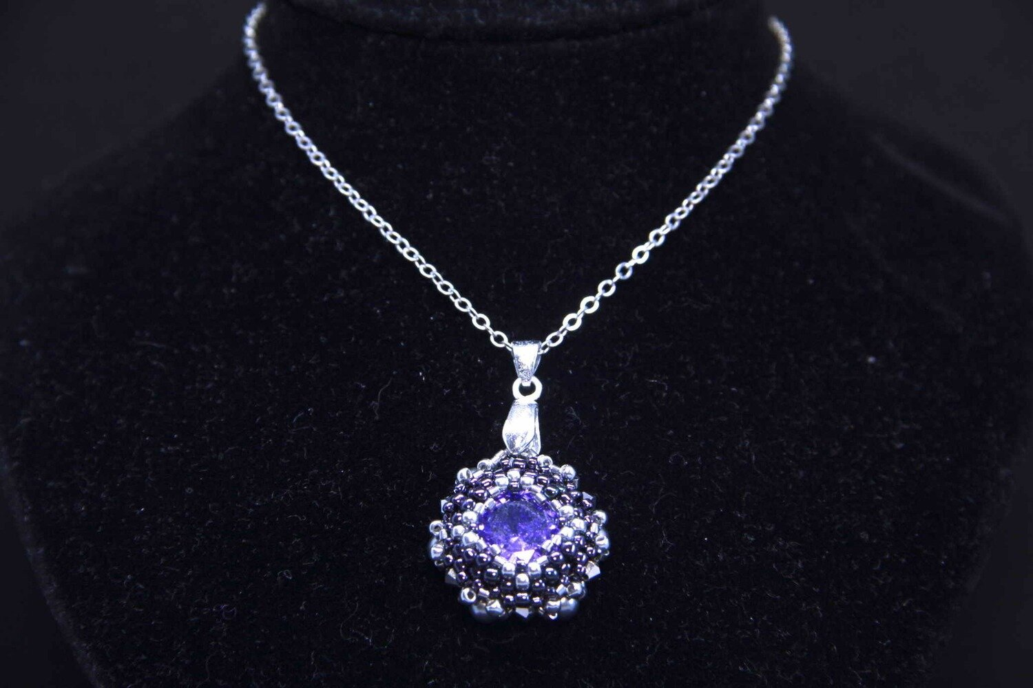 "Мaster class ""Violet"" pendant"