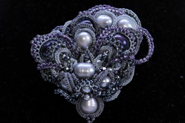 Author's brooch