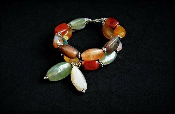 """Bracelet made of natural stones """"Yesenia"""""""