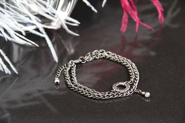 "Bracelet-chain  ""Doris"""