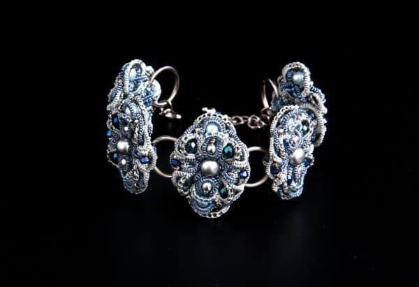 "Lace bracelet ""Monroe"""
