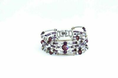 """Bracelet purple """"Carnival"""""""