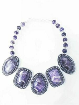"""Necklace with amethyst """"Amethyst"""""""