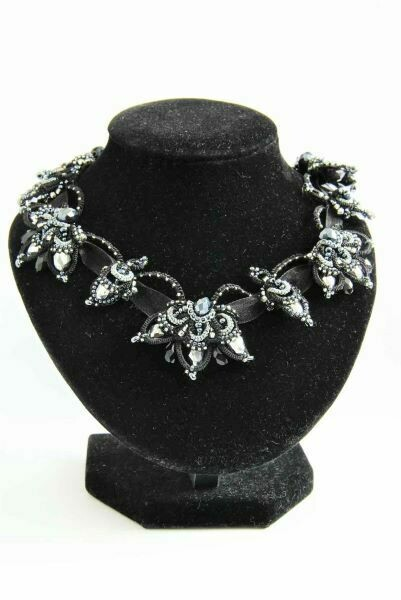"The ""Black Lily"" necklace"