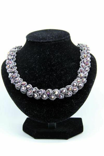 """Lace necklace """"Queen Tamara"""""""