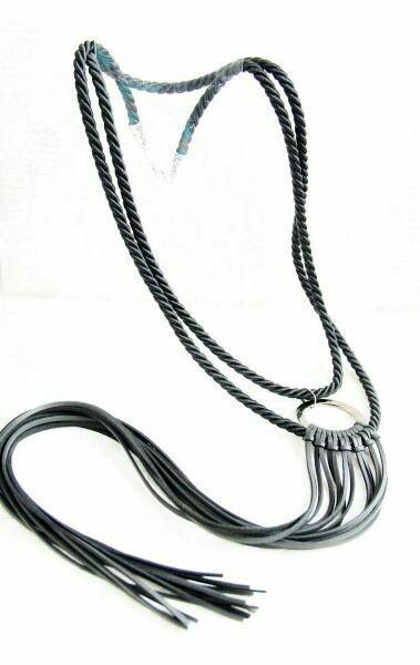 "Sautoir (necklace) ""Twine"""