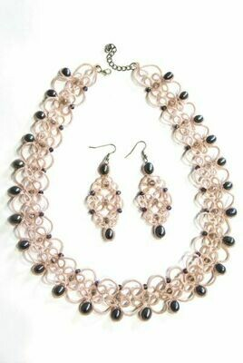 """Set with pearls """"Romance"""""""