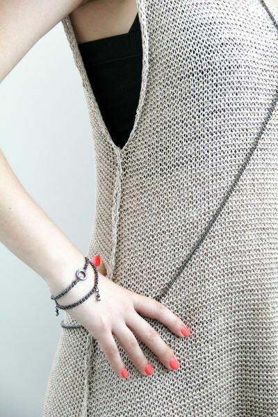 Doris chain jewelry set