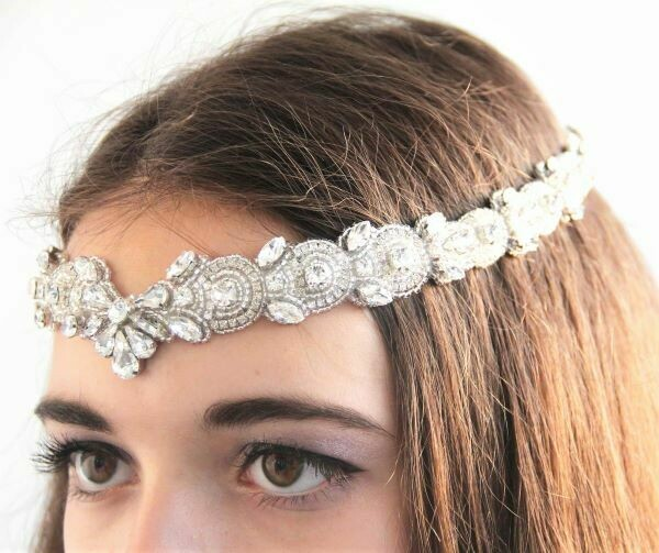 "Wedding Headband ""Bride"""