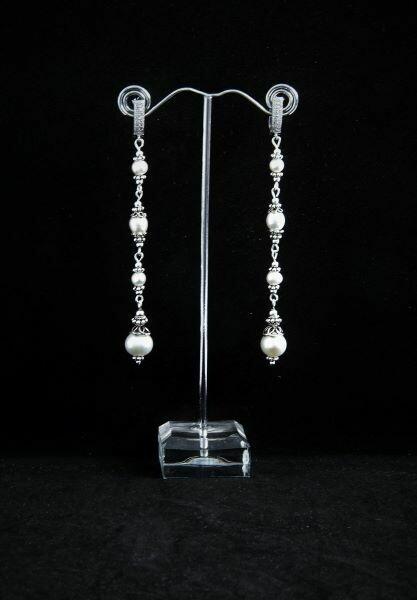 "Pearl earrings ""Marianna"""