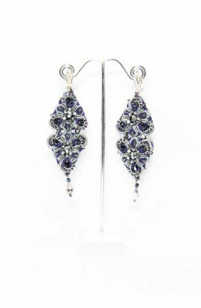 "​Lacy earrings ""Orion"""