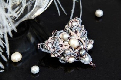 """Мaster class """"Multi-layer tatting with a shuttle"""""""