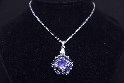 "Мaster class ""Violet"" pendant"