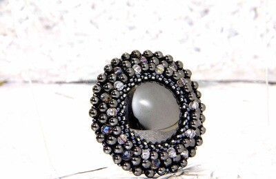 """Мaster class on making a brooch """"Nero"""""""