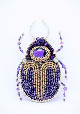 """A master class on creating a brooch """"Brooch Beetle"""""""