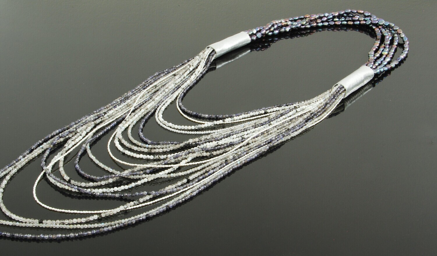 """Necklace from natural stones """"Ekaterina"""""""