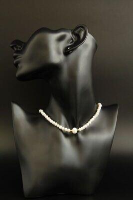 "Necklace-choker ""Belinda"""