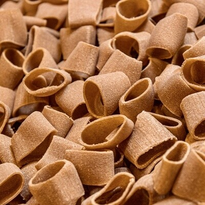Mezzi Paccheri Di Grani Antichi Bio Trafilati a Bronzo