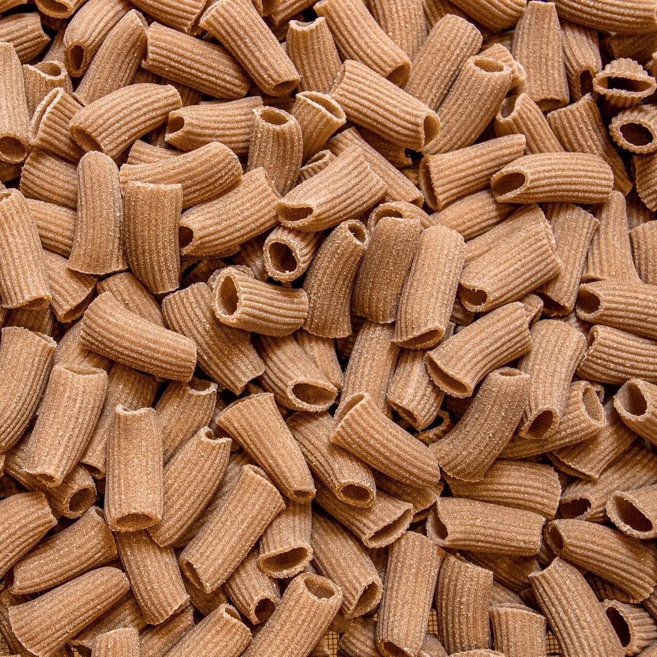 Mezze Maniche di Grani Antichi Bio Trafilati a Bronzo