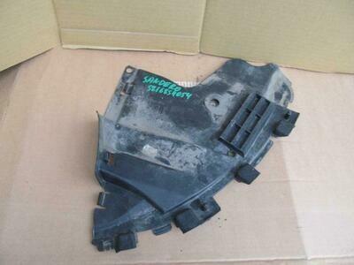 Защита переднего бампера правая часть Sandero 2009> (б/у)