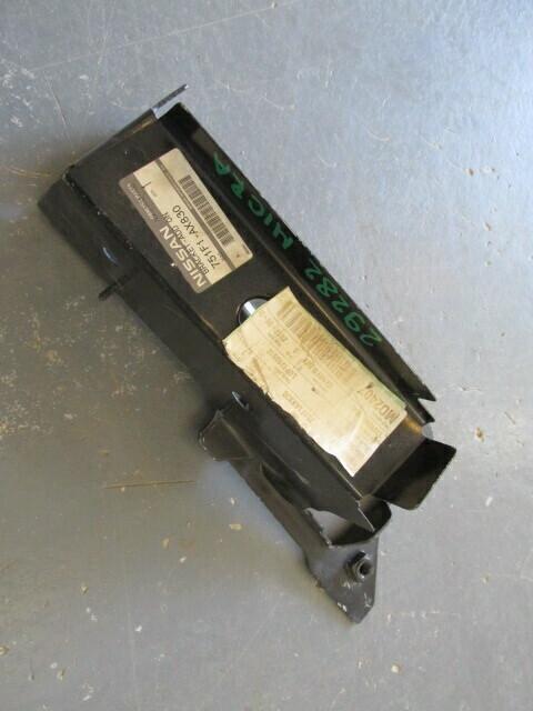 Пластина (окончание) переднего левого лонжерона. Micra (K12) 2002-2010 (новая)