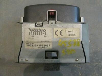 Штатная навигация. S80 1998-2006 (б/у)