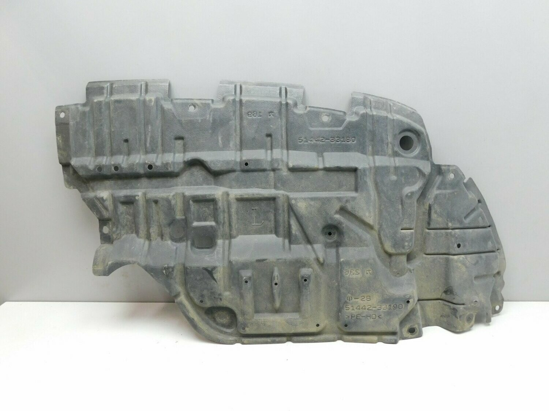 Пыльник двигателя нижний, левый. Camry V50 2011-2018 (б/у)