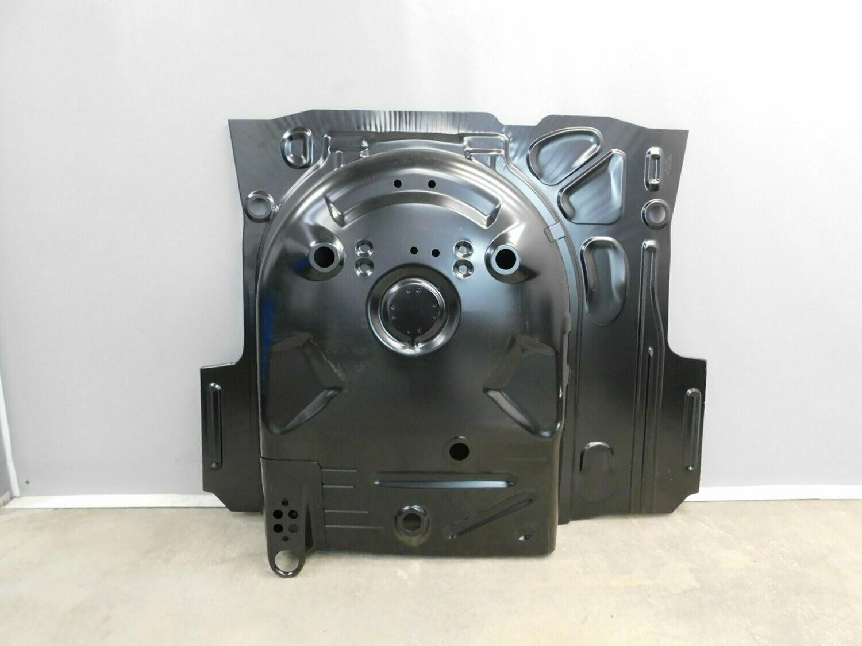 Оригинал VAG. Пол багажника с нишей для запасного колеса. Rapid 2013-2020 (новая)