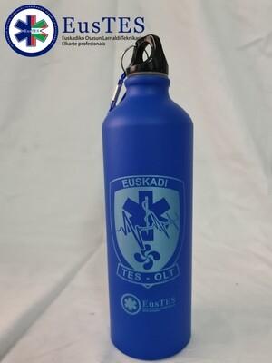 Bidón de aluminio TES-OLT Euskadi Aluminiozko botila
